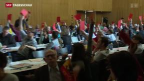 Video «Forderung der SP zur Personenfreizügigkeit » abspielen