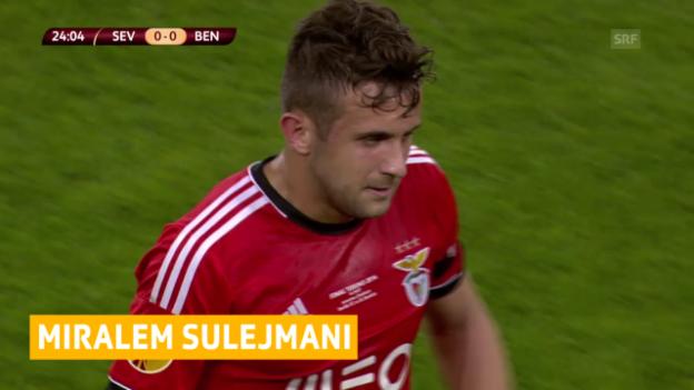 Video «Fussball: YB verpflichtet Benfica-Profi Sulejmani» abspielen