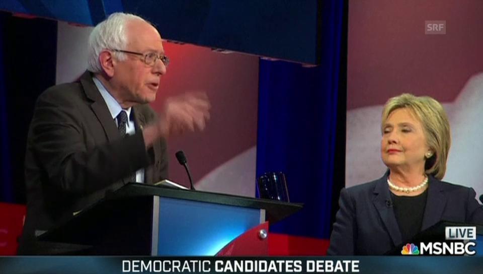 Sanders: «Zeit, dass die Wall Street der Mittelschicht hilft»