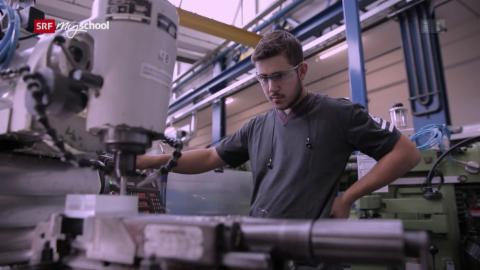Berufsbilder aus der Schweiz: Polymechaniker EFZ