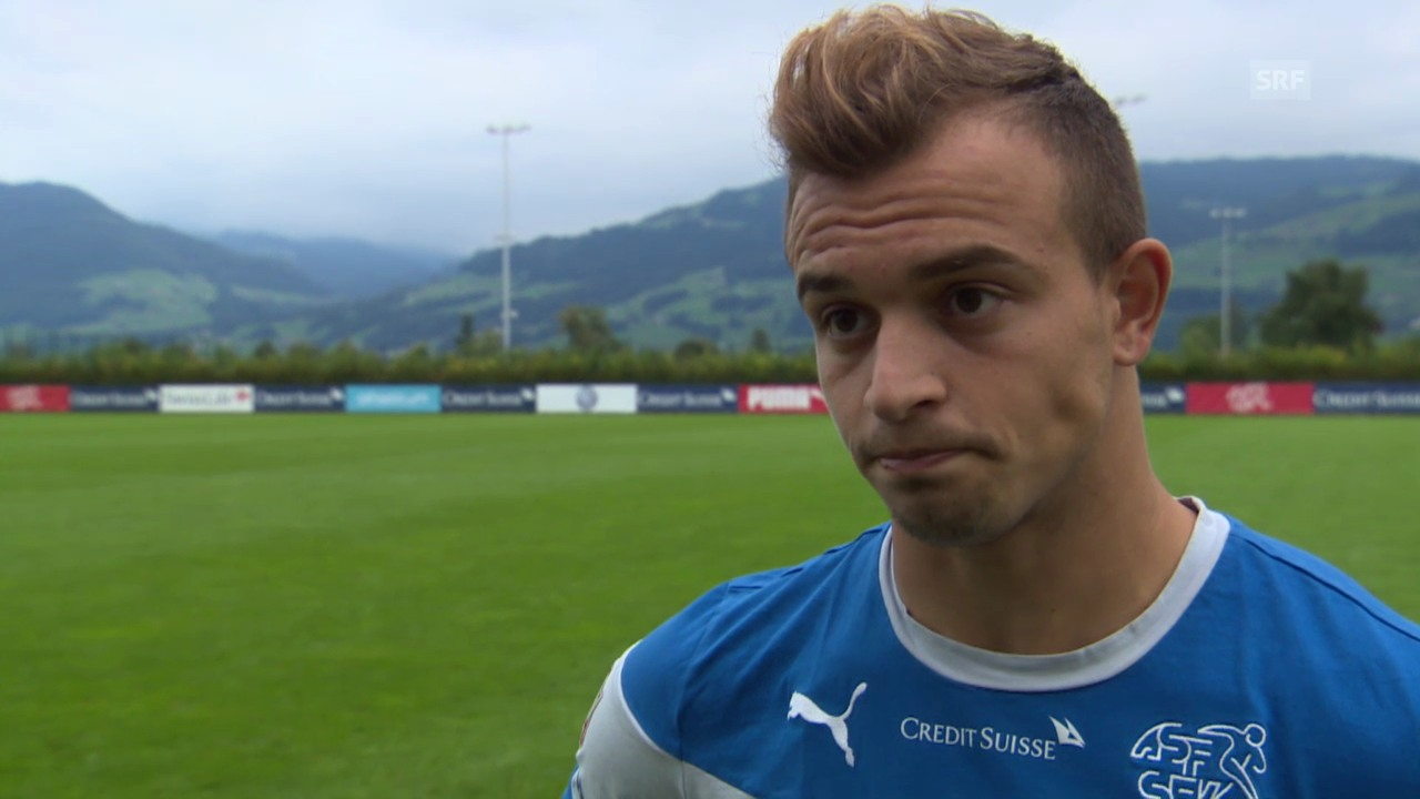 Fussball: Interview mit Xherdan Shaqiri