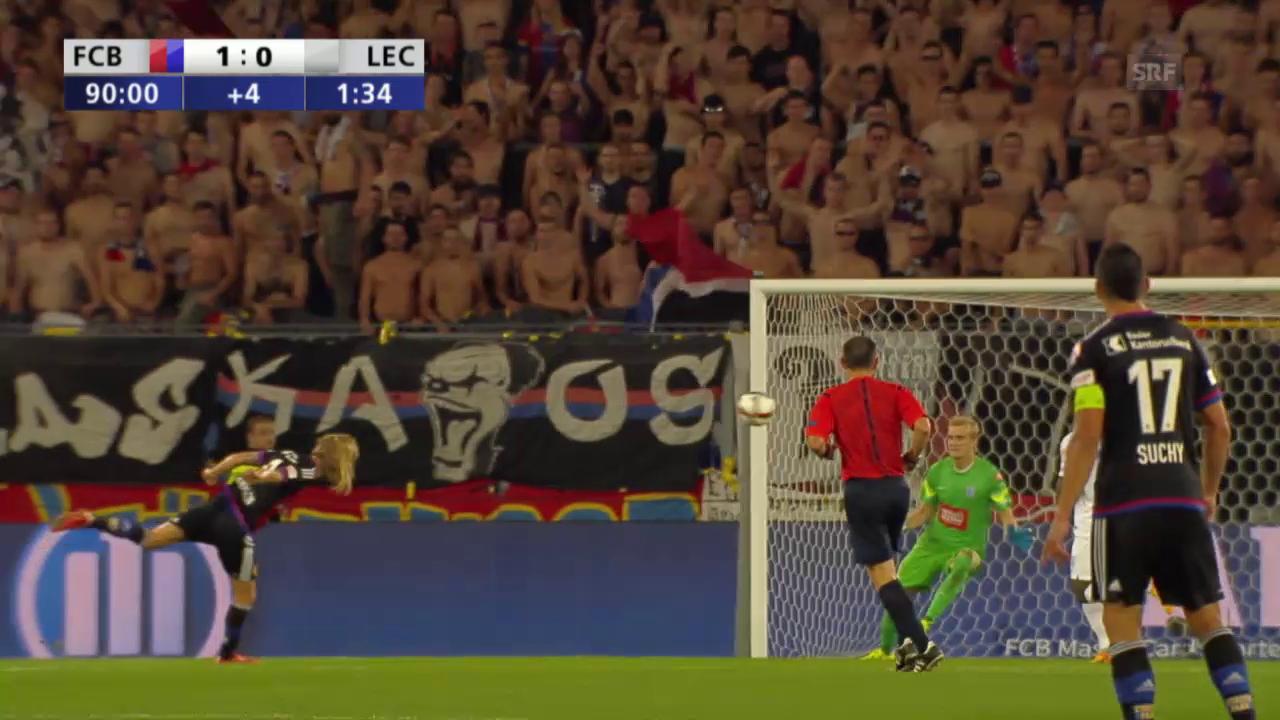 Fussball: Champions League, Basel - Lech Posen