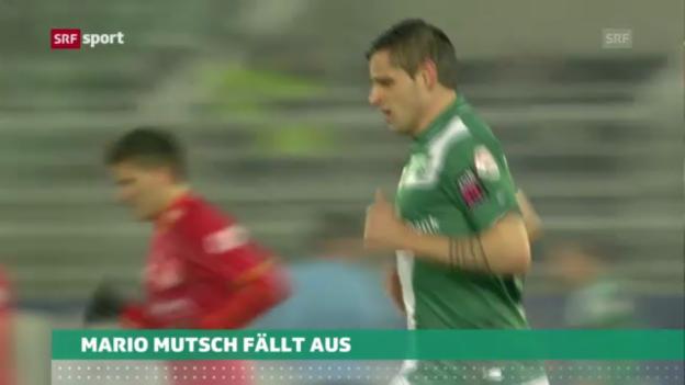 Video «Fussball: Mutsch fällt aus» abspielen