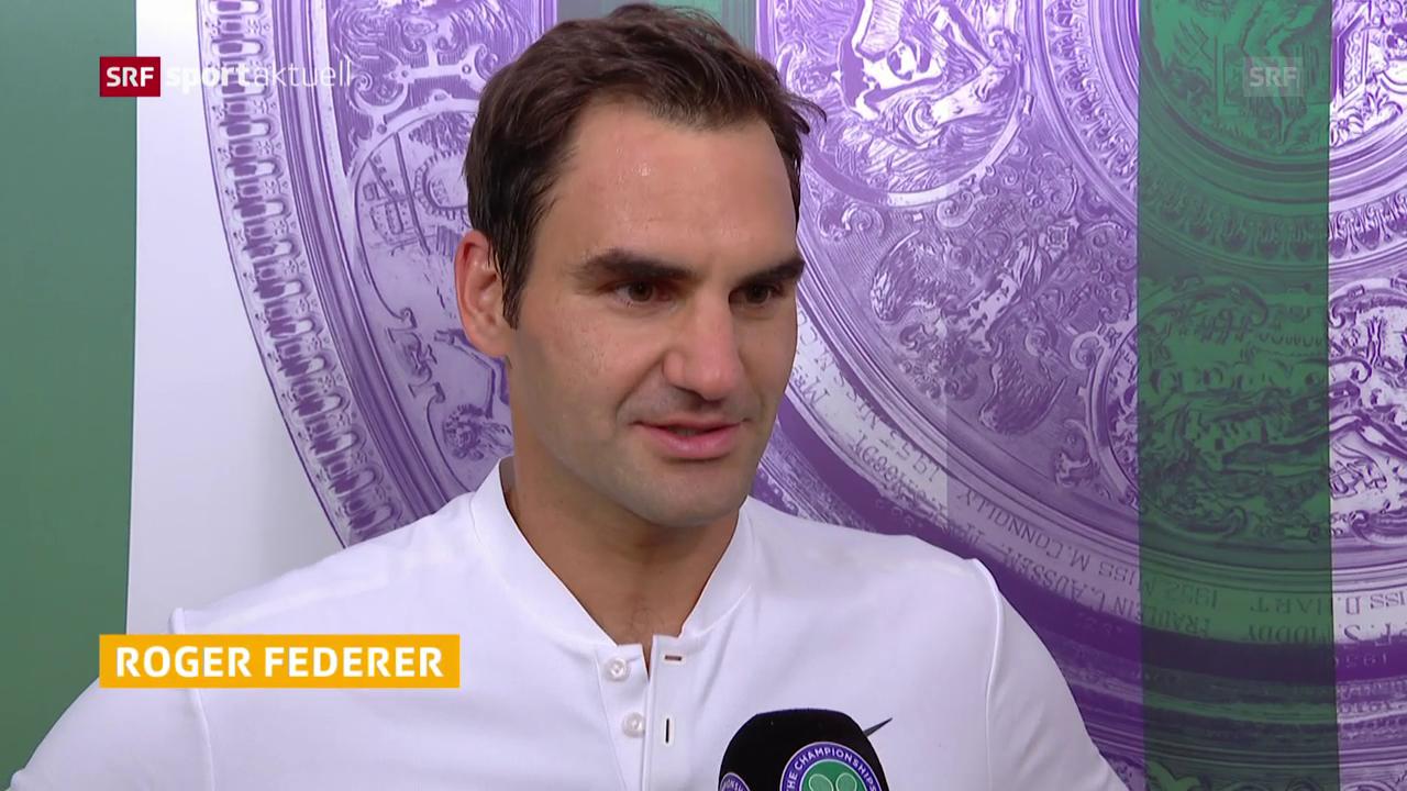 Federer: «Wichtig, mit gutem Gefühl durch Woche 1 zu kommen»