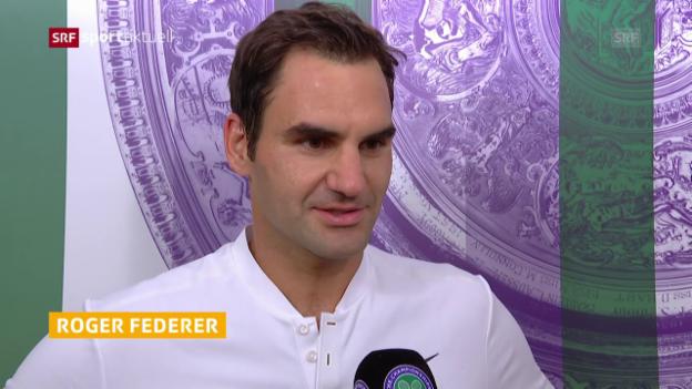 Video «Federer: «Wichtig, mit gutem Gefühl durch Woche 1 zu kommen»» abspielen