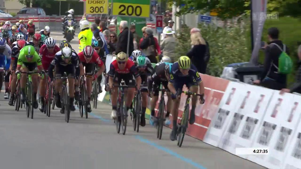 Viviani Sprintsieger in Payerne