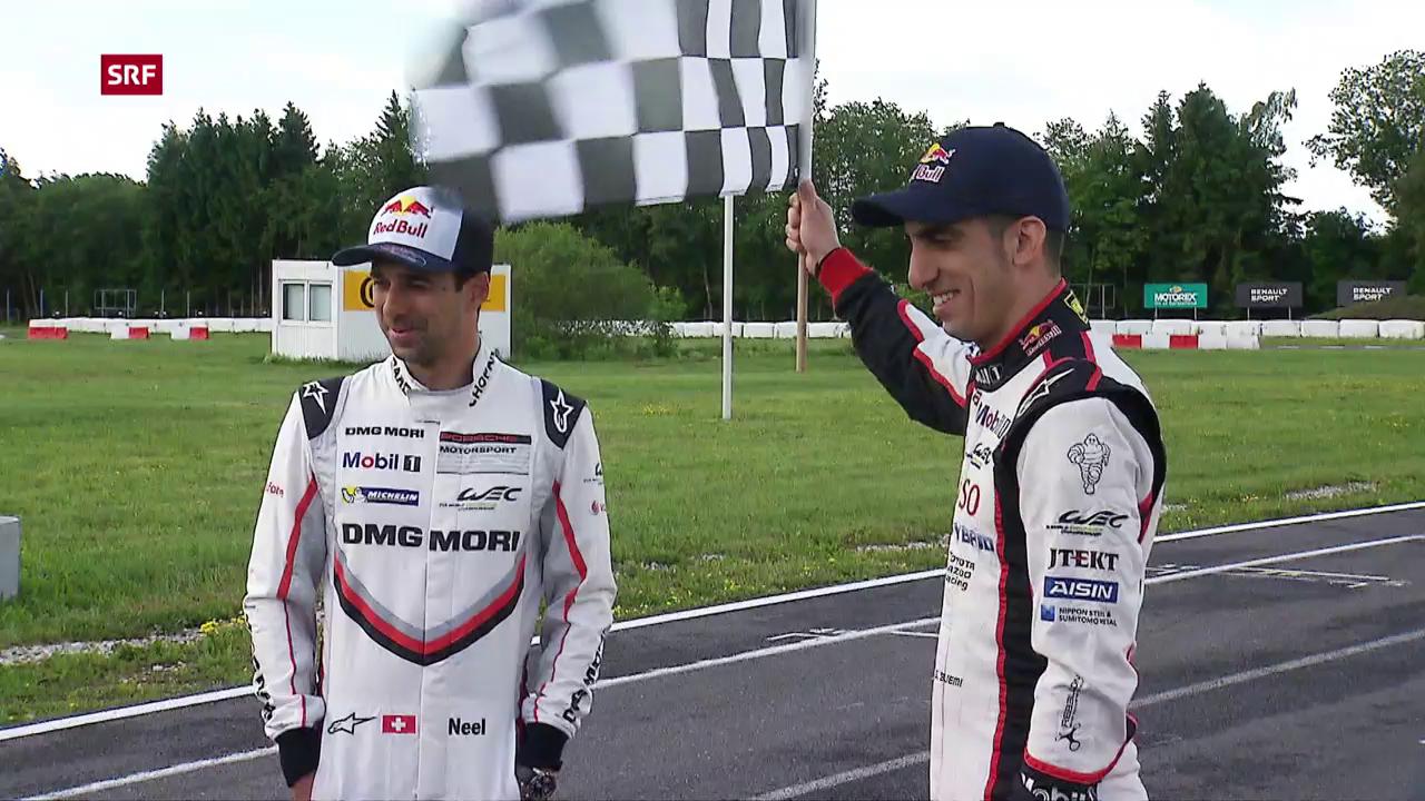 Zwei Schweizer hoffen auf einen Sieg in Le Mans
