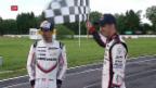 Video «Zwei Schweizer hoffen auf einen Sieg in Le Mans» abspielen