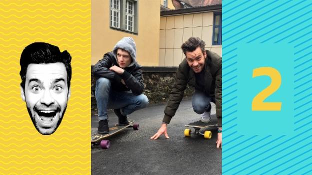 Video «Nemo kann longboarden – Michel muss!» abspielen