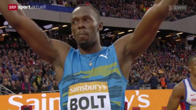 Video «Leichtathletik: Diamond League Meeting in London» abspielen