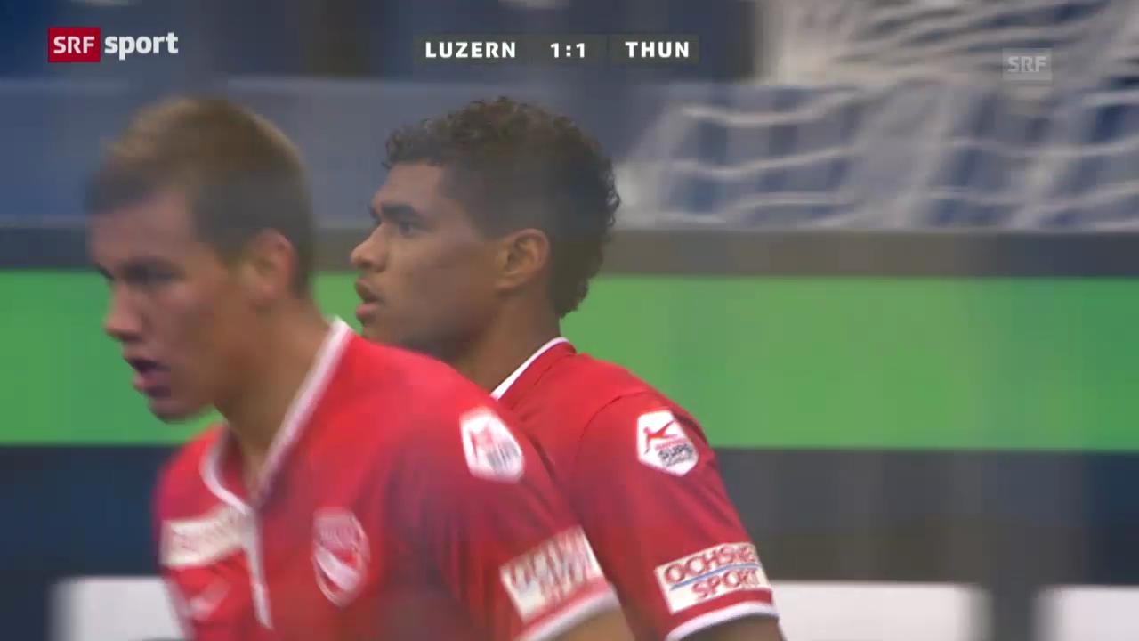 Spielbericht Luzern-Thun («sportpanorama»)