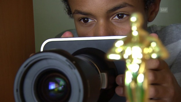Video «Damien Hauser – vom Kinderzimmer in den Kinosaal» abspielen