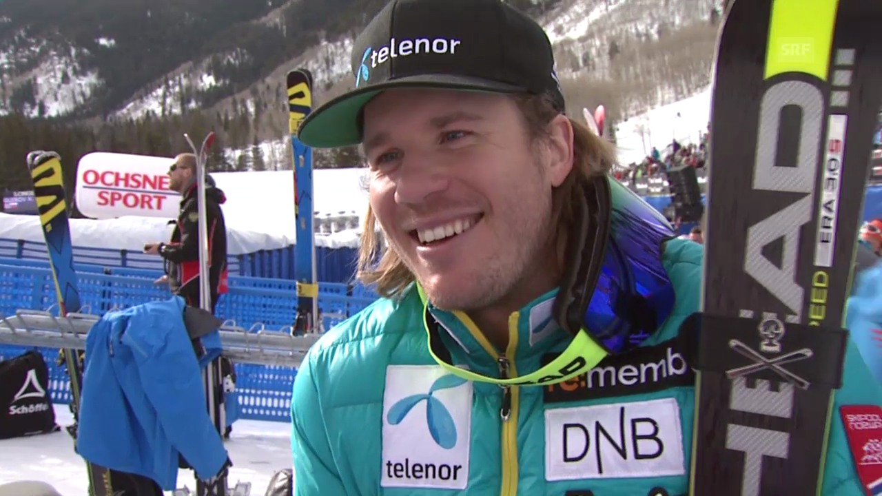 Ski alpin: Weltcup in Beaver Creek, Super G, Kjetil Jansrud im Interview