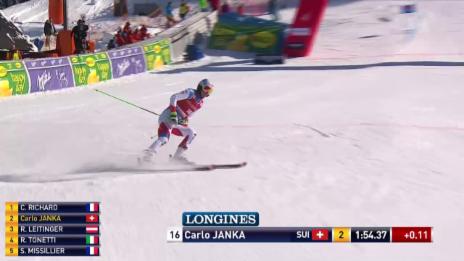 Video «Carlo Janka im 2. Lauf von Kranjska Gora» abspielen