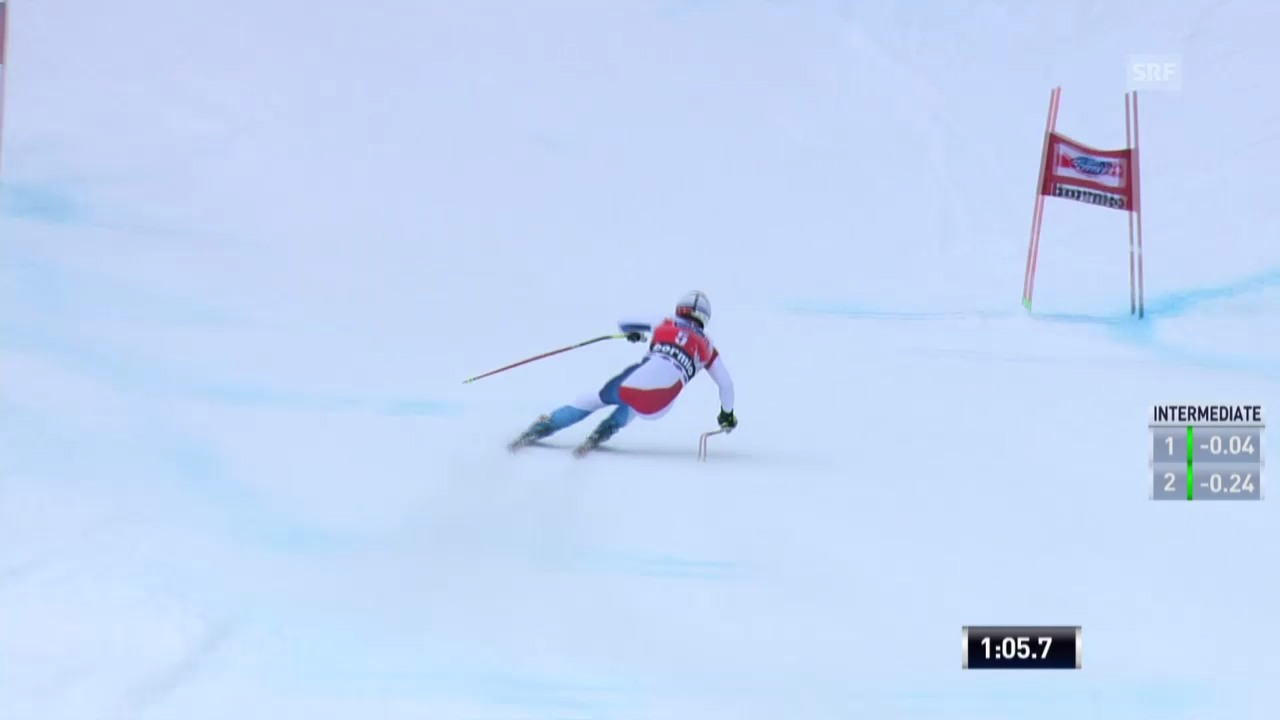 Ski: Abfahrt Männer Bormio («sportaktuell» vom 29.12.2013)