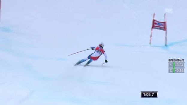 Video «Ski: Abfahrt Männer Bormio («sportaktuell» vom 29.12.2013)» abspielen