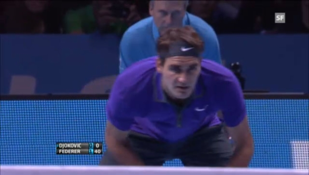 Video «ATP Finals: Highlights Djokovic - Federer («sportlive»)» abspielen