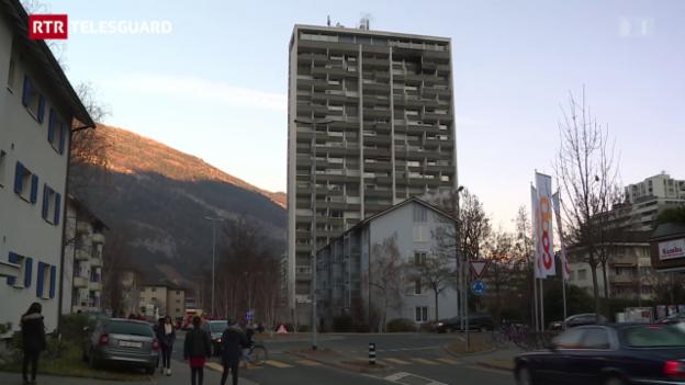Laschar ir video «2 blessads tar incendi a Cuira»