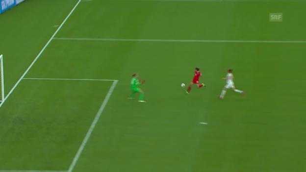 Video «Fussball: Frauen-WM, Spielbericht China - Niederlande» abspielen