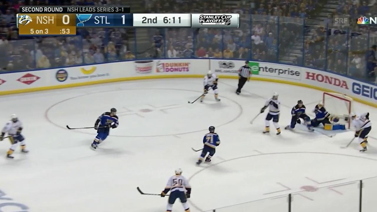 Josi assistiert beim Ausgleich (Quelle: NHL)