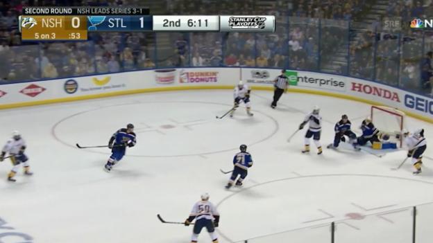 Video «Josi assistiert beim Ausgleich (Quelle: NHL)» abspielen
