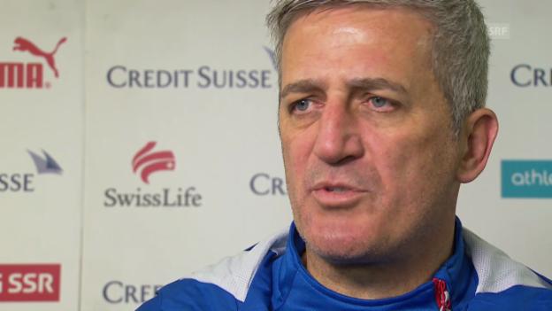 Video «Fussball: Interview mit Vladimir Petkovic» abspielen