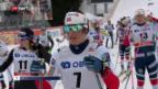 Video «Björgen siegt souverän, Von Siebenthal wird 17.» abspielen
