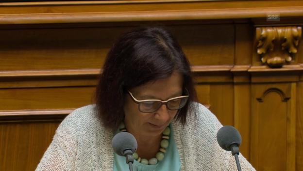 Video «Nationalrätin Silvia Schenker (SP/BS): Beitrag der Solidarität» abspielen