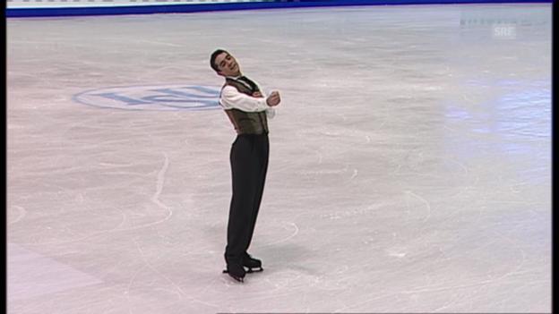 Video «Eiskunstlaufen: Kür Fernandez» abspielen