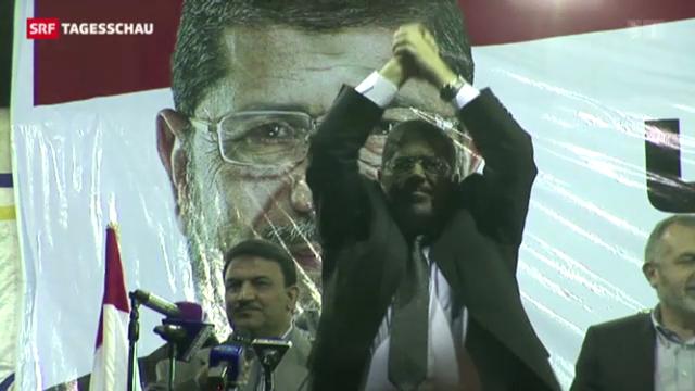 Mohammed Mursi muss vor Gericht
