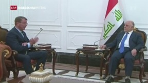 Video «Spannungen zwischen dem Irak und der Türkei nehmen zu» abspielen
