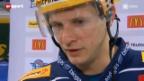 Video «Eishockey: Medienorientierung zum Spengler Cup» abspielen