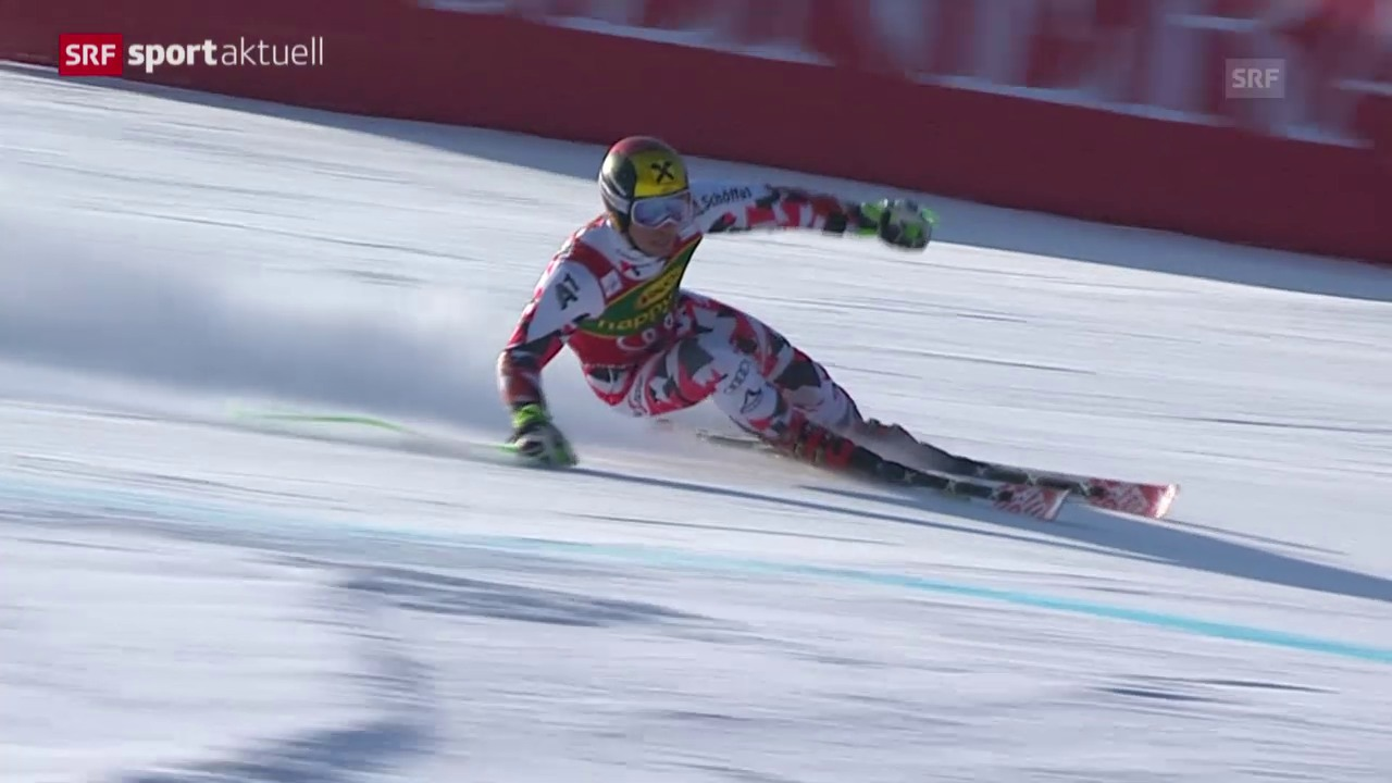 Ski: Riesenslalom der Männer in Kranjska Gora