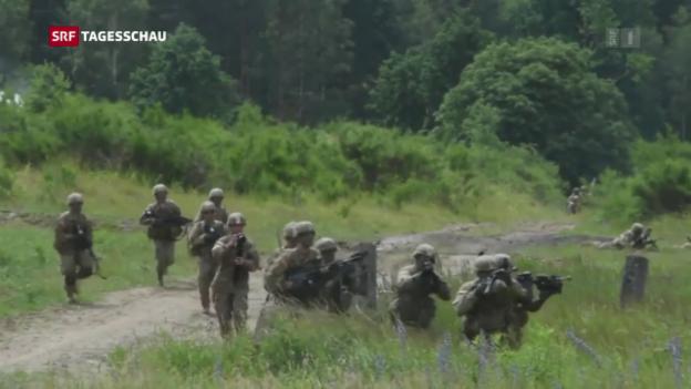 Video «US-Armee: Kehrtwende von Trump bei Transgender» abspielen