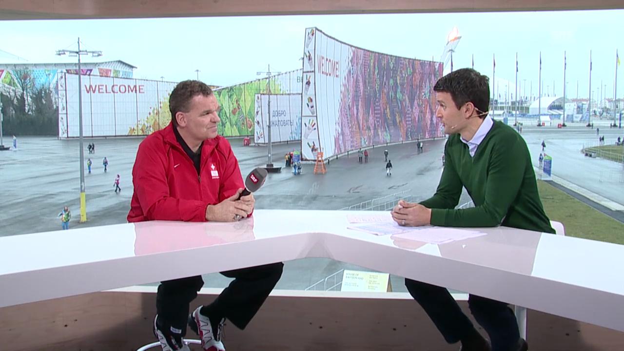 Sotschi: Eishockey, Gespräch mit Sean Simpson