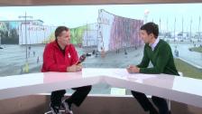 Video «Sotschi: Eishockey, Gespräch mit Sean Simpson» abspielen