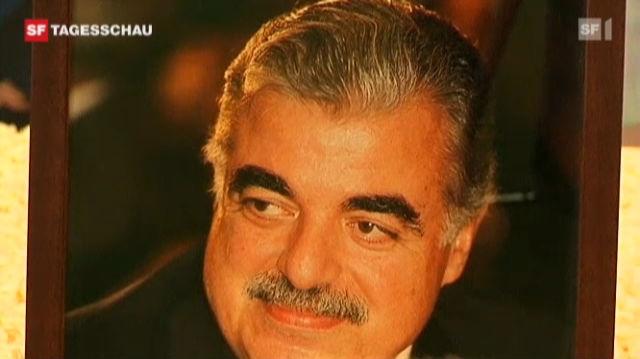 Libanon-Sondertribunal: Details des Hariri-Mordes enthüllt. (Tagesschau, 17.08.2011, 19.30 Uhr)
