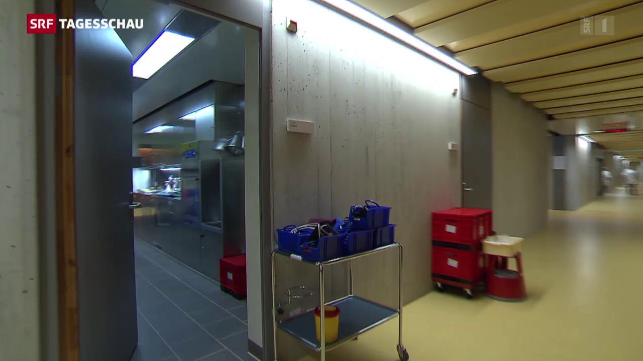 Umzug im Stadtspital Triemli