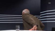 Video «Dieter Freiburghaus' Abgang in der «Arena»» abspielen