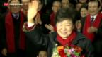Video «Neue Präsidentin in Südkorea» abspielen