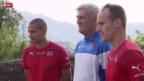 Video «Fussball: Die Fussball-Nati im Trainingscamp» abspielen