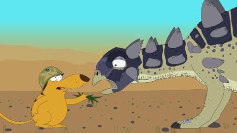 Ralph und die Dinosaurier: Euoplocephalus (5/26)