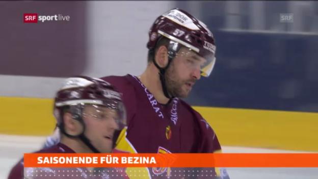 Video «Saisonende für Goran Bezina» abspielen