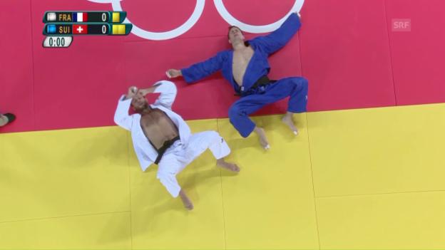 Video «Grossklaus: Das Aus für die letzte Schweizer Judo-Hoffnung» abspielen