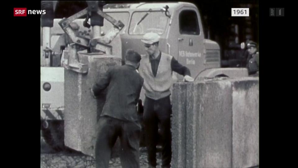 60 Jahre nach dem Mauerbau in Berlin
