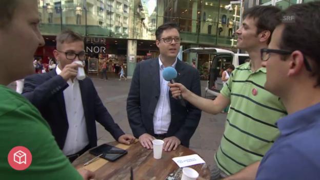 Video «politbox on tour #6: Live-Sendung aus Lugano» abspielen