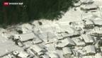 Video «Auch in Japan spielt das Wetter verrückt» abspielen