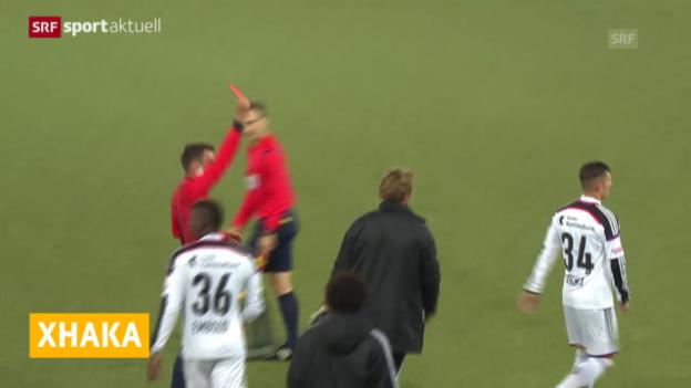 Video «Fussball: Taulant Xhakas Sperre wird reduziert («sportaktuell»)» abspielen