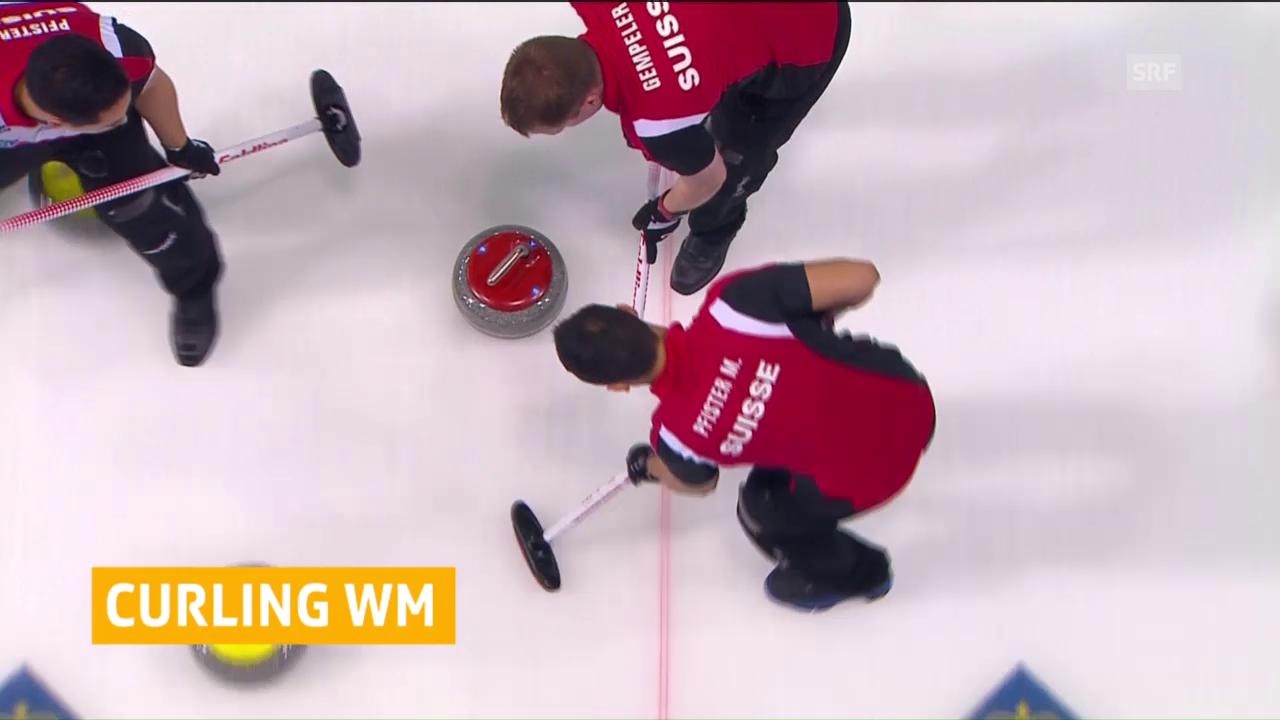 Niederlage und Sieg für Schweizer Curler