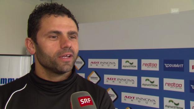 Video «Interview mit Uli Forte vor der Derby» abspielen